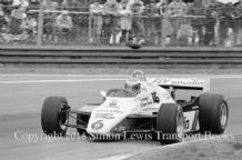 Williams FW08 Keke Rosberg Belgian GP 1982